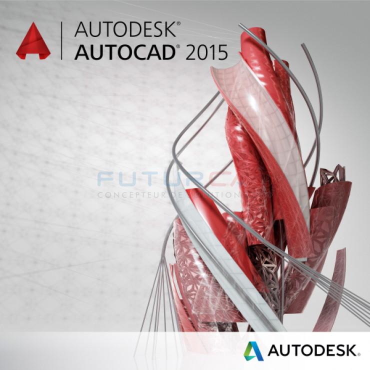 AUTODESK AutoCAD pour Windows 2015 - Souscription Commerciale-1ère année