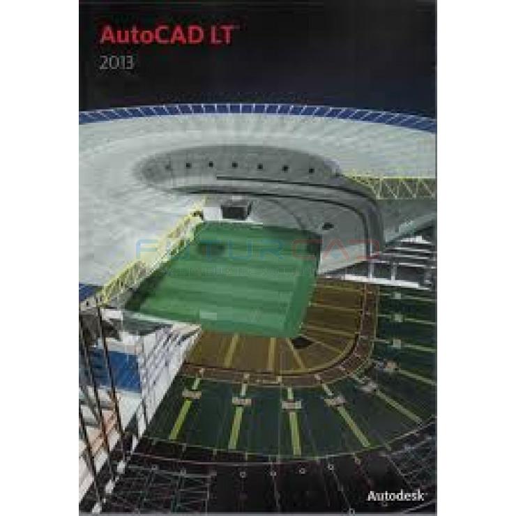 AUTODESK AutoCAD LT 2013 - 1 siège - commercial - DVD - Win - Multilingue - Autodesk ML02 - SLM
