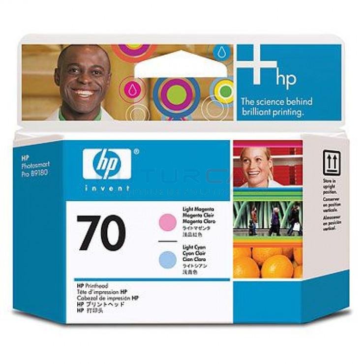 HP 70 - C9405A - Magenta clair, cyan clair