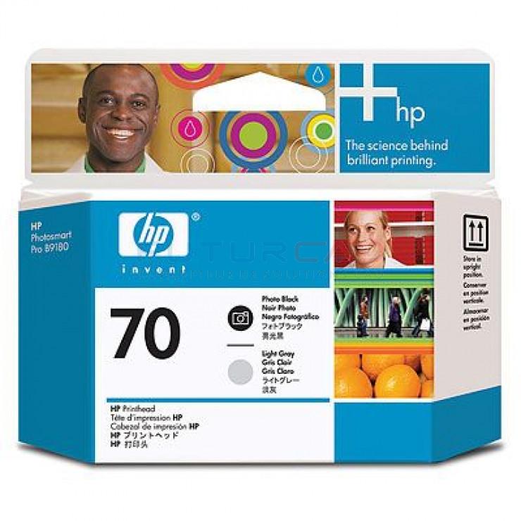 HP 70 - C9407A - Gris clair, noire photo