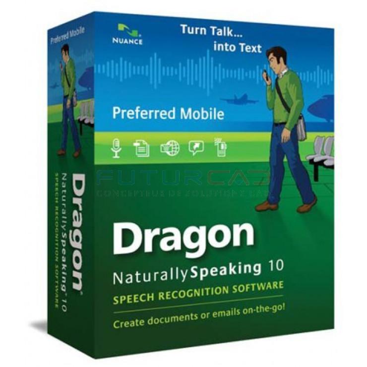 Dragon NaturallySpeaking 10 Preferred Mobile