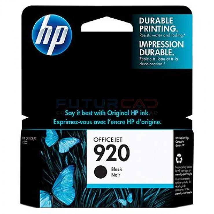 HP 920 - CD971AE - Cartouche d'encre Noir - 14 ml
