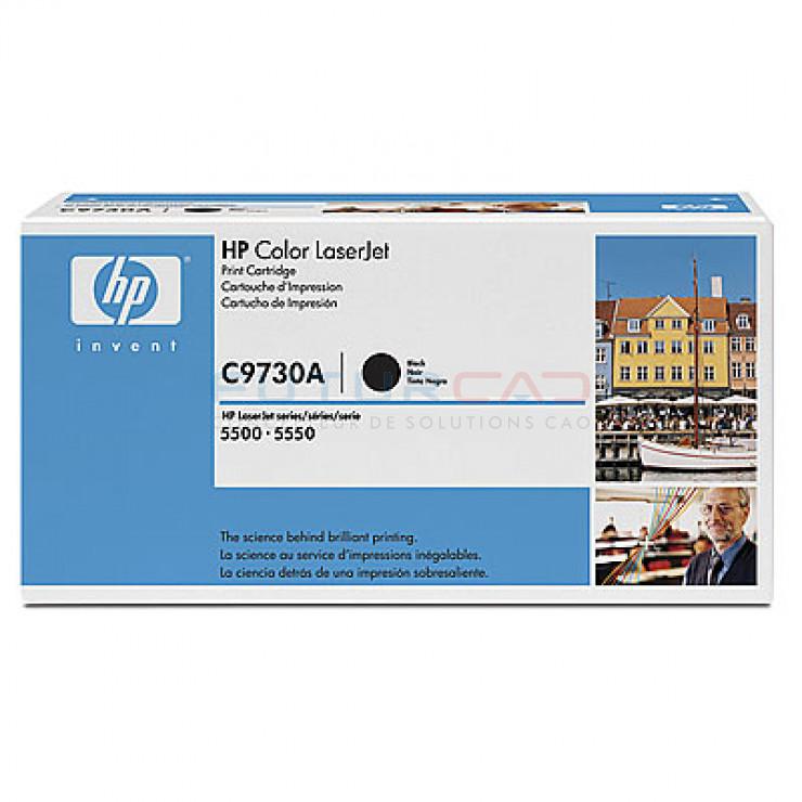 HP C9730A - Noir - Cartouche de toner