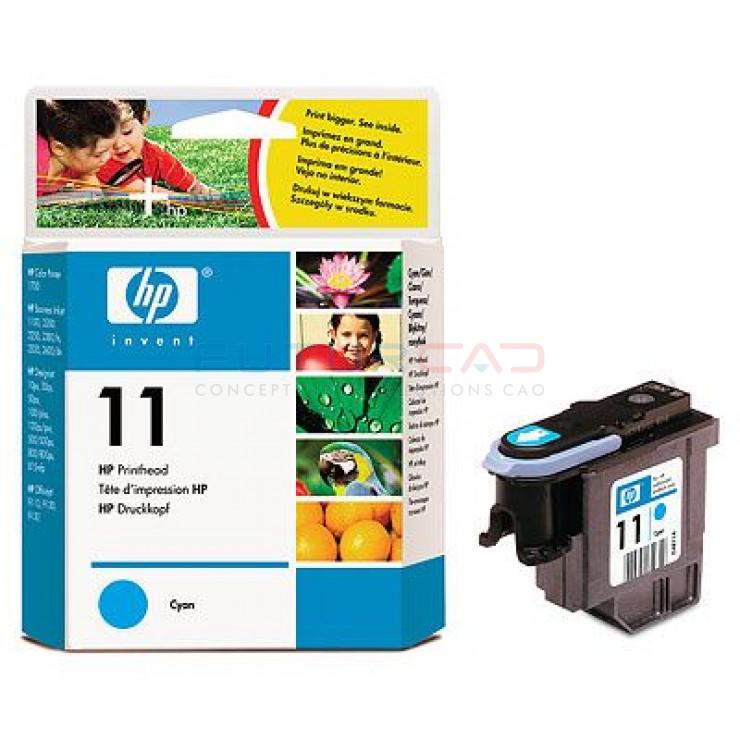HP 11 - C4811A - Tête d'impression Cyan