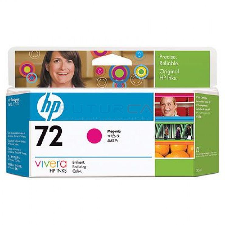 HP 72 - Cartouche d'encre - Magenta - 130 ml