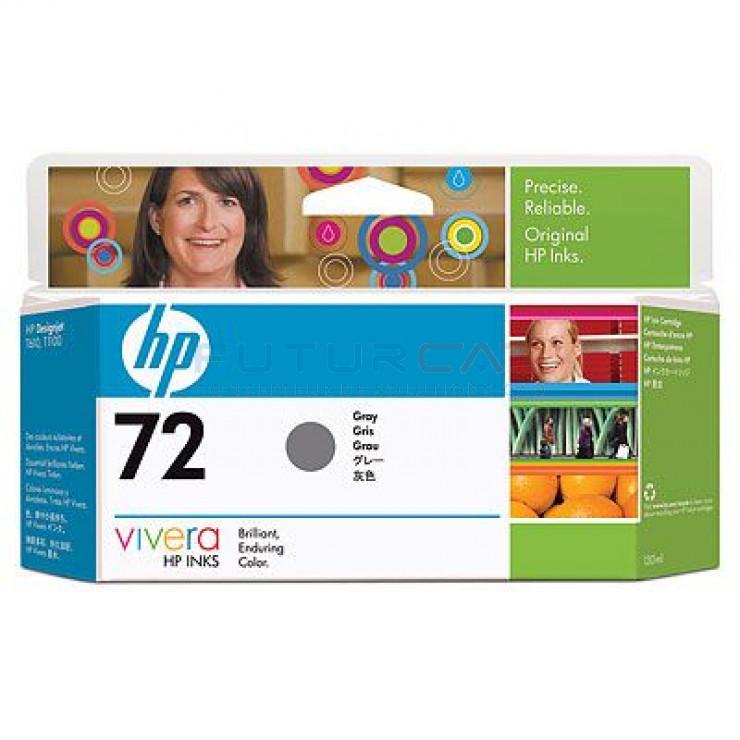HP 72 - Cartouche d'encre - Gris - 130 ml