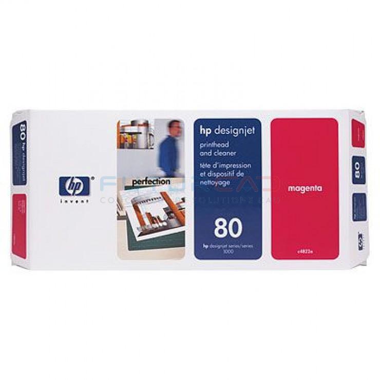 HP 80 - Tête d'impression Magenta et dispositif de nettoyage - C4822A