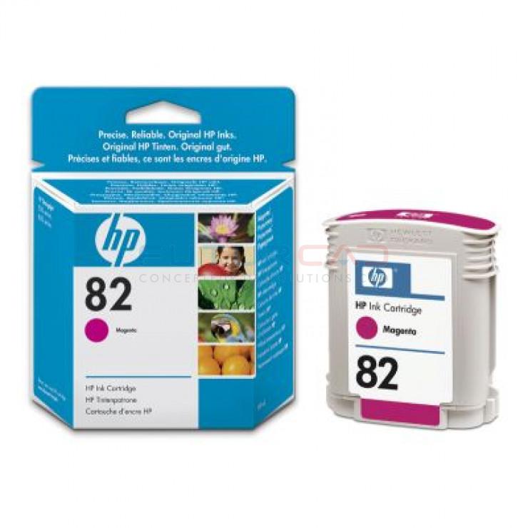 HP 82 - C4912A - Cartouche d'encre Magenta - 69 ml