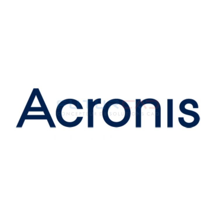 ACRONIS Backup and Recovery 11.5 Advanced Server pour Windows