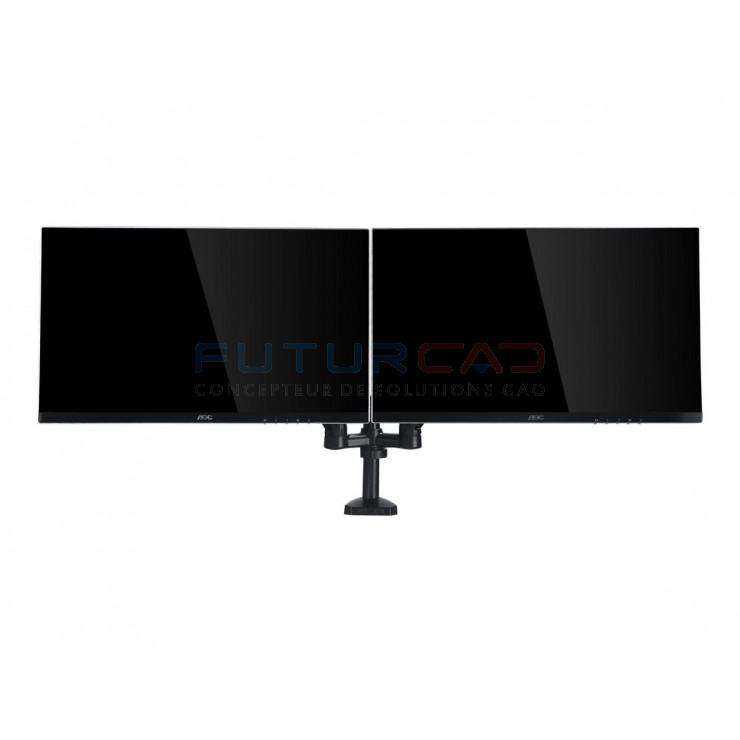 AOC AD110D0 - Double bras pour écran LCD jusqu'à 27 pouces