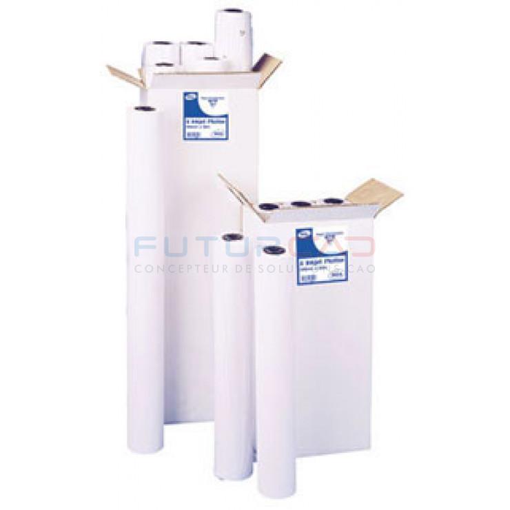 Bobine Papier Jet d'Encre Standard - 0.610x50m - 80g