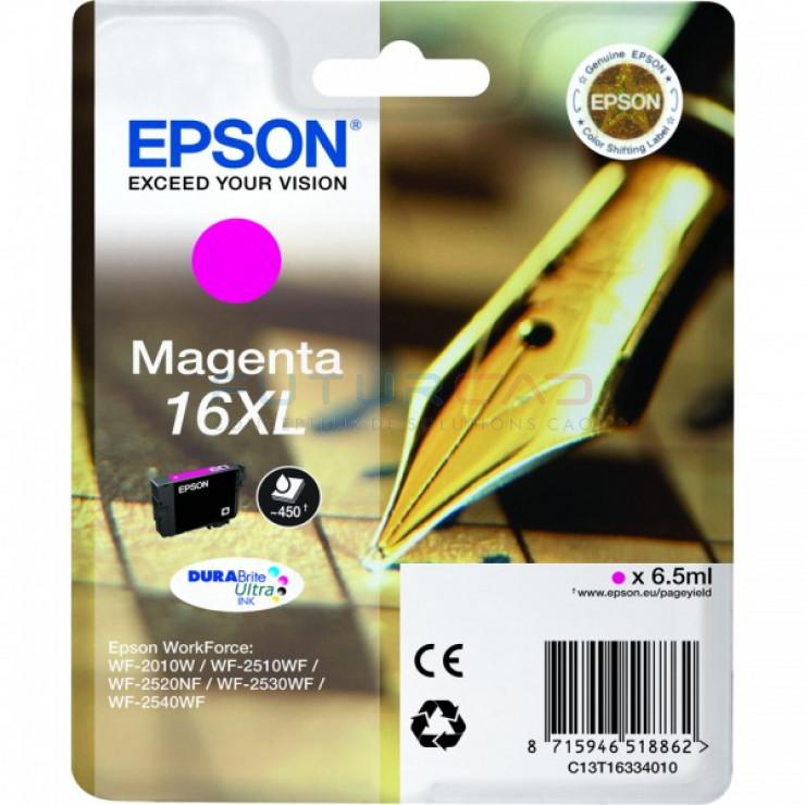 EPSON 16XL Magenta - Encres DURABrite Ultra Grande capacité - 6 ml