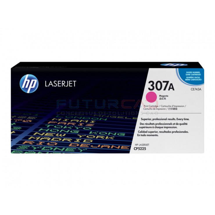 HP 307A cartouche de toner magenta 7300 pages CE743A