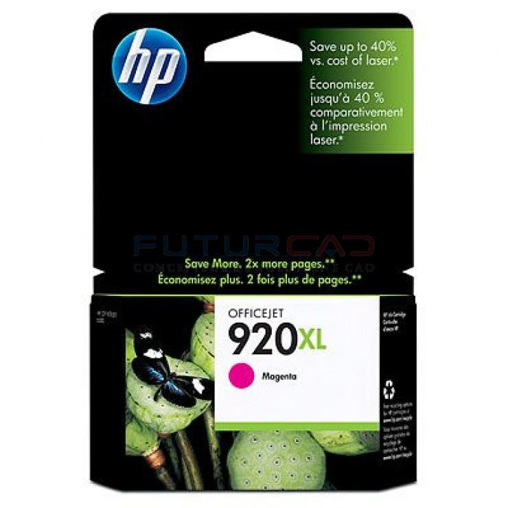 HP 920XL - Cartouche d'encre magenta - CD973AE