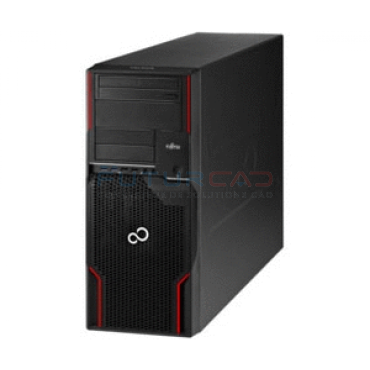 FUJITSU CELSIUS W520 - Xeon E3-1240 v2 - Windows 8 Pro pre-instal Windows 7 Pro - 2x4GB ECC - 500Go - FirePro V4900 1Go - ProGreen
