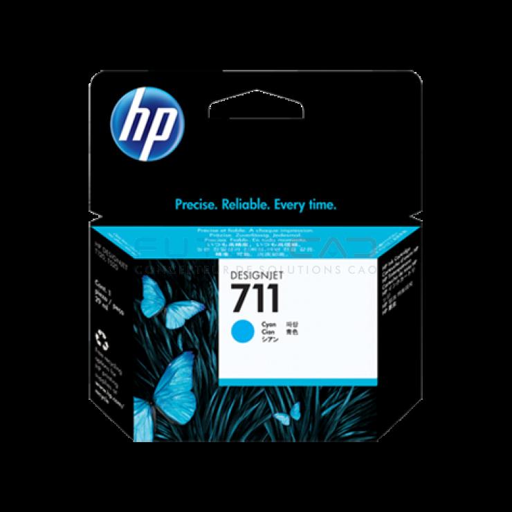 HP 711 - Cartouche d'encre cyan - 29 ml - CZ130A