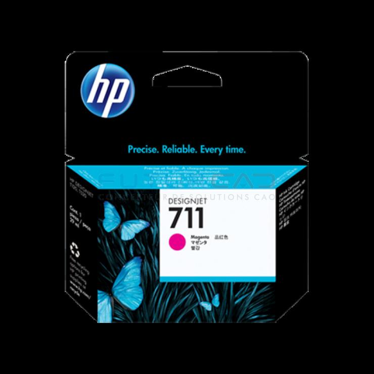 HP 711 - Cartouche d'encre magenta - 29 ml - CZ131A