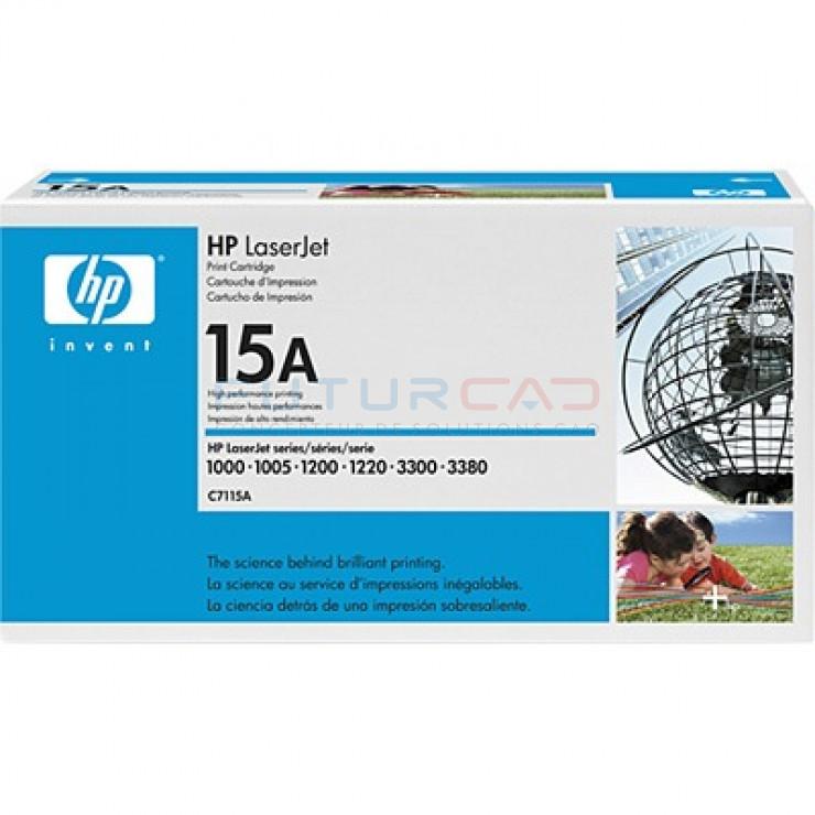 HP toner 15A - C7115A - Cartouche de toner noir - 2500 pages
