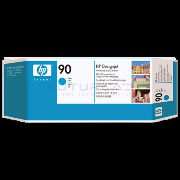 HP 90 - C5055A - Tête d'impression cyan