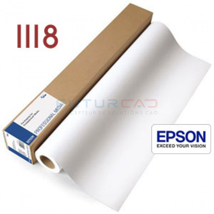 EPSON Papier Mat Simple Epaisseur - 1118 mm - C13S041855
