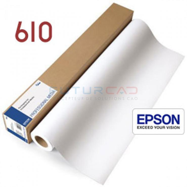 EPSON Papier Mat Simple Epaisseur - 610 mm - C13S041853