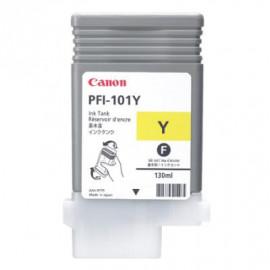 CANON PFI-101 - Jaune - 0886B001