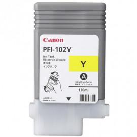 CANON PFI-102 - Jaune - 0898B001