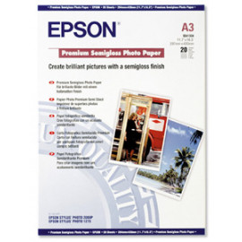 EPSON Photo Premium - Semi-brillant - A3 - 251 g/m²
