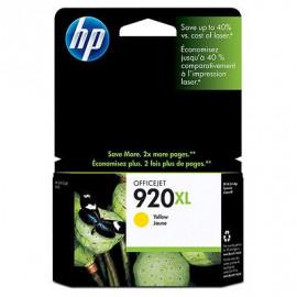 HP 920XL - Cartouche d'encre jaune - CD974AE