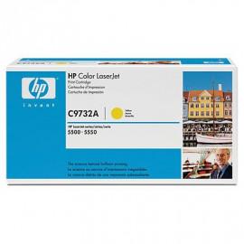 HP C9732A - Jaune - Cartouche de toner