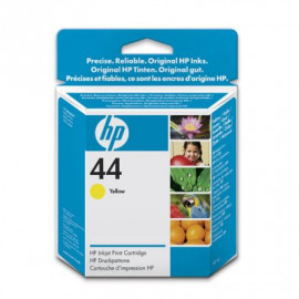 HP 44 - 51644YE - Cartouche d'encre Jaune - 42ml