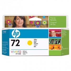 HP 72 - Cartouche d'encre - Jaune - 130 ml