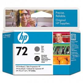 HP 72 - Tête d'impression - Gris et noir photo