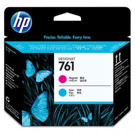 HP 761 - CH646A - Tête d'impression d'origine - 1 x magenta et 1 x cyan
