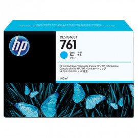 HP 761 - CM994A - Cartouche d'encre d'origine - 1 x cyan - 400 ml