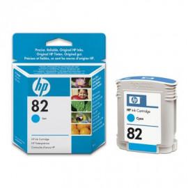 HP 82 - C4911A - Cartouche d'encre Cyan - 69 ml