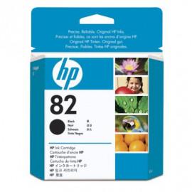 HP 82 - CH565A - Cartouche d'encre Noire - 69 ml