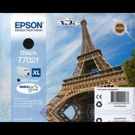 EPSON - T7021 - XL - Cartouche d'encre Tour Eiffel d'origine - 1 x noire - 21 ml
