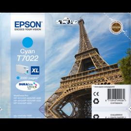 EPSON - T7022 - XL - Cartouche d'encre Tour Eiffel - 1 x cyan - 21 ml