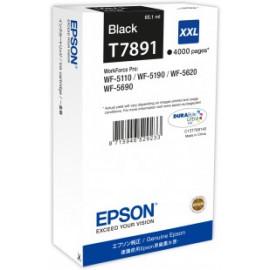 EPSON - T7891 - XXL - Cartouche d'encre d'origine - 1 x noire - 65 ml