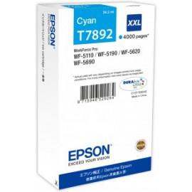 EPSON - T7892 - XXL - Cartouche d'encre d'origine - 1 x cyan - 65 ml
