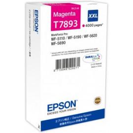EPSON - T7893 - XXL - Cartouche d'encre d'origine - 1 x magenta - 65 ml