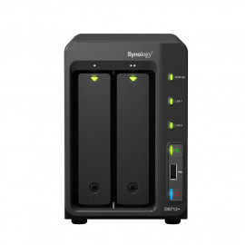 SYNOLOGY DiskStation DS713+ - Serveur NAS - 2 DD 1 To WESTERN DIGITAL CAVIAR BLACK
