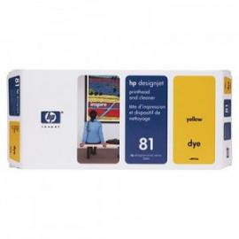 HP 81 - C4953A - Tête d'impression jaune